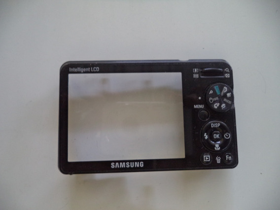 Carcaça Traseira Botões Camera Maquina Digital Samsung Pl 50