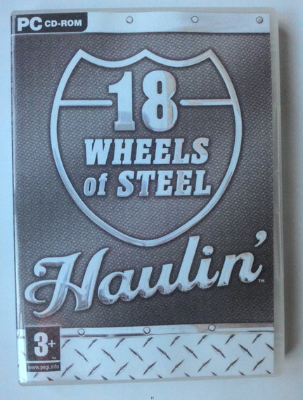 18 Wheels Of Steel Haulin + Patch Brasil - Frete Grátis