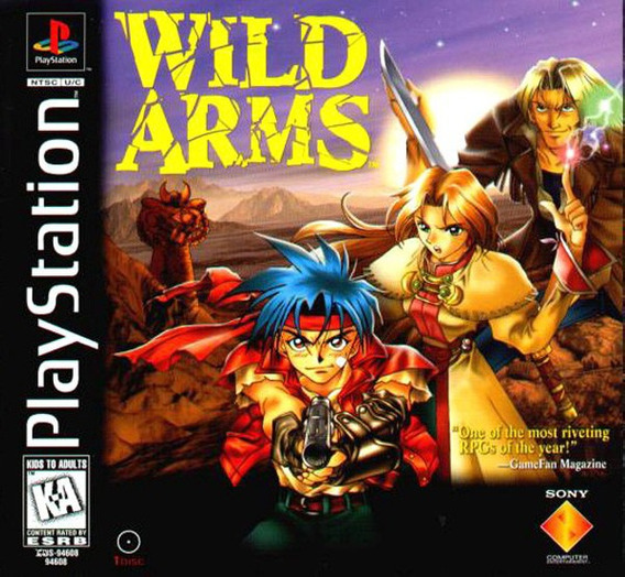 Wild Arms - Playstation 1 -