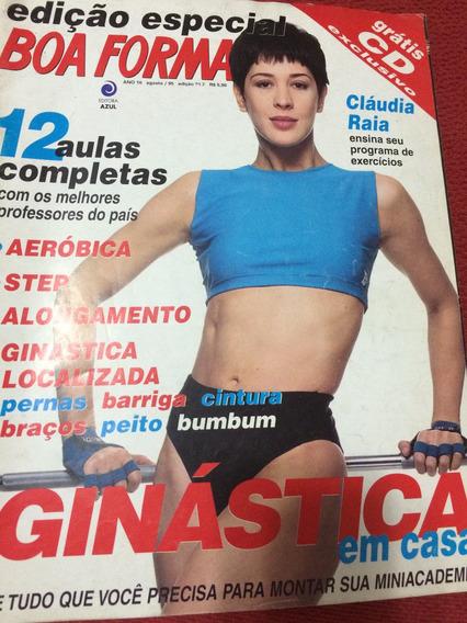 Revista Boa Forma 95 Especial Claudia Raia Estrela Atriz