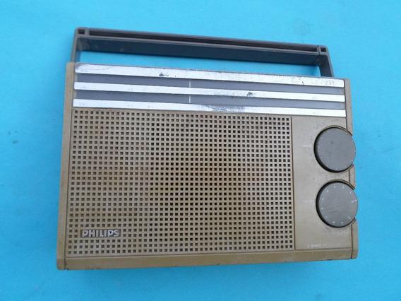 Rádio Port. Philips Mod 231 3 Faixas Déc. 70 Frete Grátis