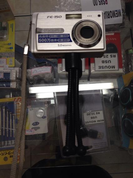 Camera Olympus Fe-150 5.0 Megapixel Importada Do Japão