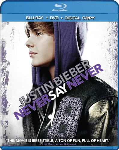 Justin Bieber   Never Say Never  Blu Ray + Dvd