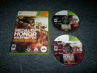Medal Of Honor Warfighter Completo Para Xbox 360,excelente