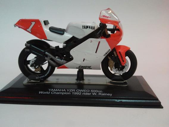 Moto De Competicion A Escala Yamaha Yzr Oweo 500cc.