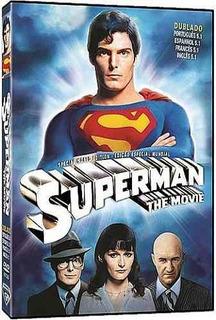 Dvd Superman O Filme Dublado Christopher Reeve Lacrado