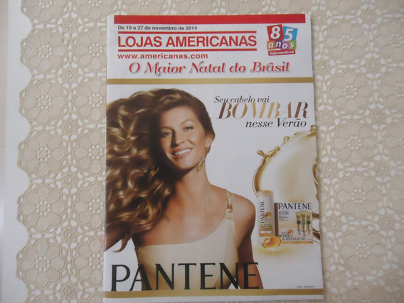 Revista Lojas Americanas, Nov-2014 Gisele Bundchen