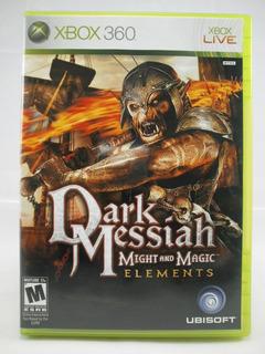 G0315 Xbox 360 Videojuego Might And Magic: Dark Messiah
