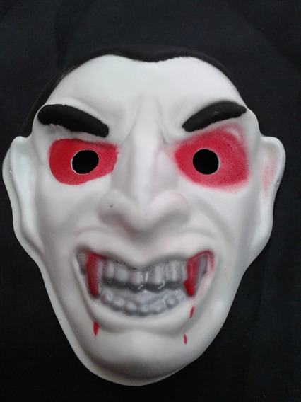 Mascara De Goma Eva Dracula Halloween Sanca