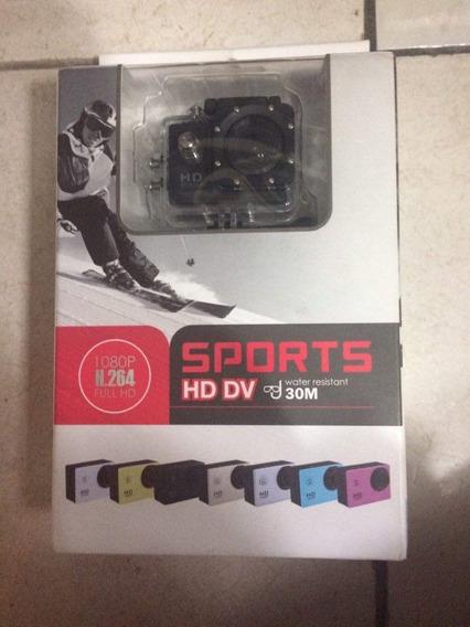Mini Câmera Filmadora Sports Hd 1080p