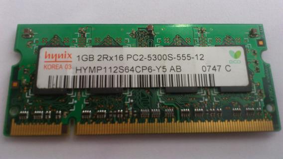 Memoria Notebook Hynix 1gb Ddr2 Pc2 5300s 667 2rx16 009