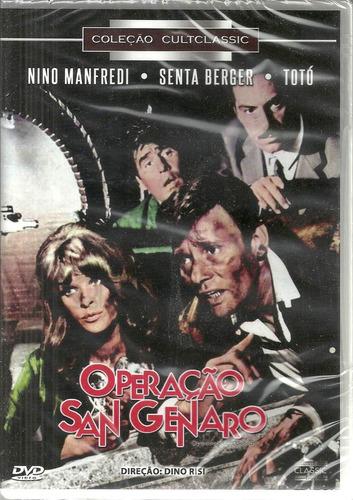 Operacao San Genaro - Dvd Cultclassic -  Bonellihq