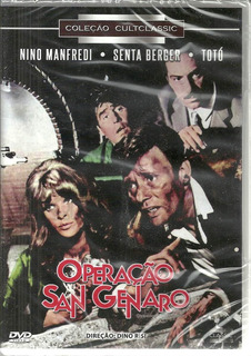 Operacao San Genaro - Dvd Cultclassic - Bonellihq Cx396 H18