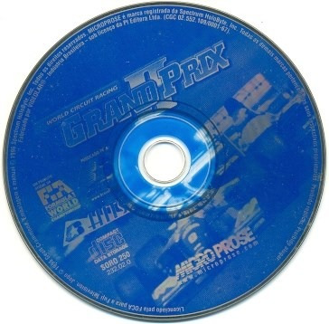 * Game Pc Grand Prix 2 World Circuit Racing Somente O Cd