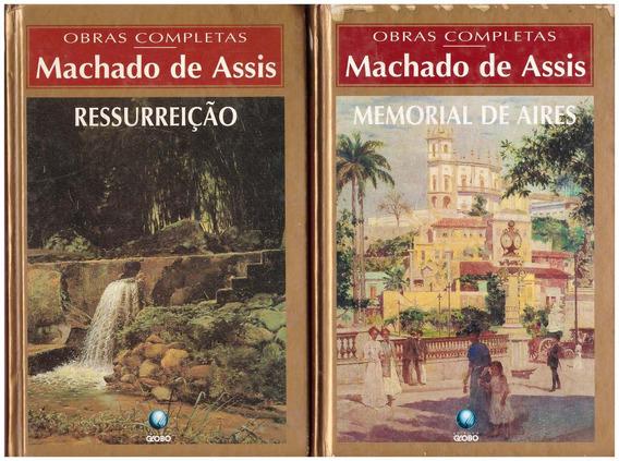 2 Livros Machado De Assis: Ressureição E Memorial De Aires