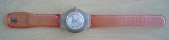 A2625 Diferente Relógio Marca Willis Em Acrílico, Com Caix