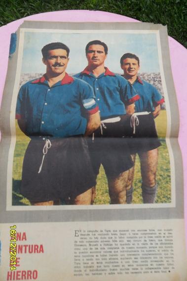 Antigua Lámina Central Mundo Deportivo Tigre 1956