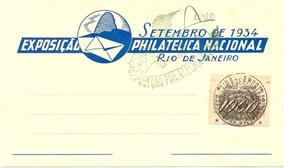 Cartão Da Exposição Filatélica Nacional, Com Selo Rhm 73