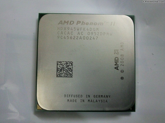 Phenom Il 2 X4 945 Black Edition 3,0 Ghz Oem Com Garantia
