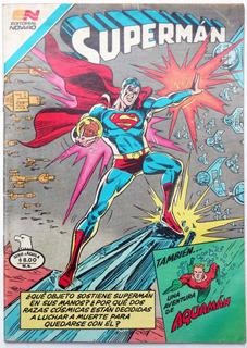 Superman # 1369 Aquamán 1982 Aguila Tlacua03
