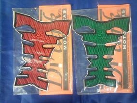 Adesivo Protetor De Tanque // Vermelho Ou Verde // Sundown