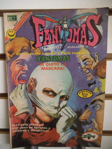 Fantomas 84 Editorial Novaro
