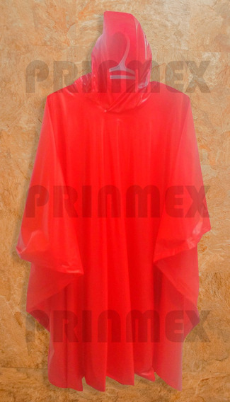 Impermeable Tipo Capa Poncho No Desechable Grueso Personal