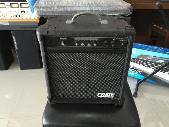 Amplificador Crate Para Bajo Bx 15