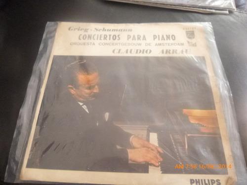 Vinilo Lp - Claudio Arrau -- Grieg .schumann (u1238
