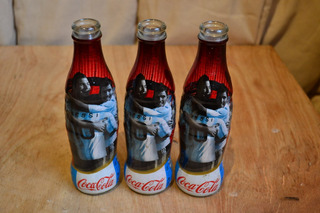 Botella Vidrio Gaseosa Coca Cola Copa America 2011 Messi