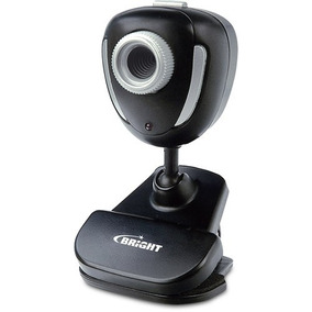 Web Cam Bright 1.3 Megapixels Preta - Bright