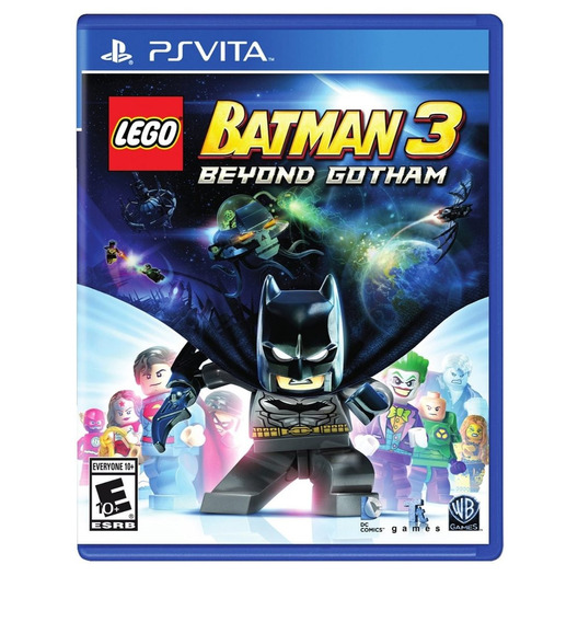 Jogo Novo Lego Batman 3 Beyond Gotham Para Ps Vita