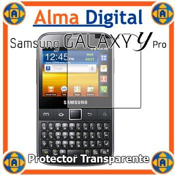 Lamina Protector Pantalla Samsung Y Pro B5510 Transparente