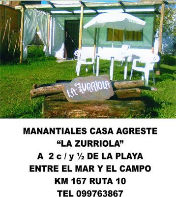 Manantiales Casa Agreste A 2 Cuadras De La Playa