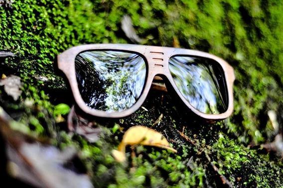 Óculos Madeira Tupi Imbuia