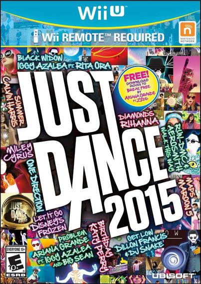 Jogo Novo Lacrado Just Dance 2015 Para Nintendo Wii U