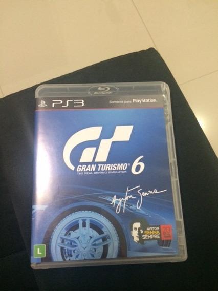 Gran Turismo 6 - Ps3 - Usado