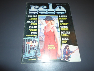 Revista Pelo N 146 Blondie Purpple Whitesnake Marley Kiss