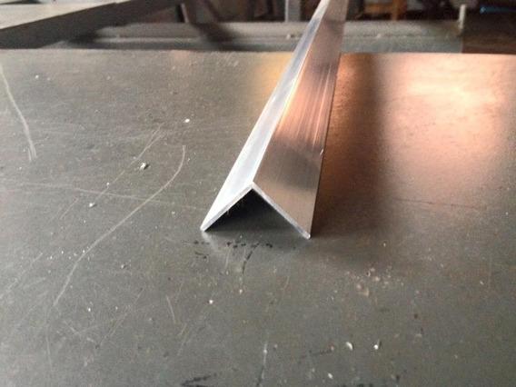 Cantoneira Aluminio 3/4 X1/16 Pol.x 1,00mt (19,05mmx1,52mm)