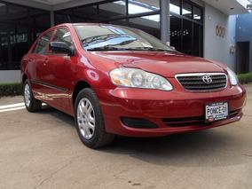 Toyota Corolla Ce Rojo 2007