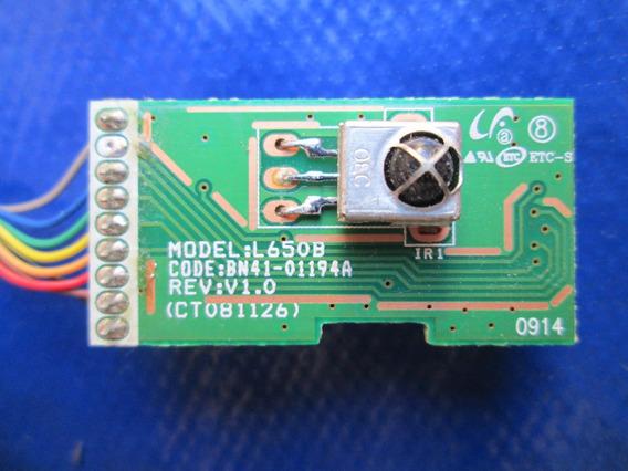 Placa Sensor Cr Bn41-01194a Para Tv Samsung Ln40b610a6m