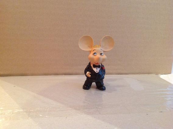Miniatura Topo Gigio Don Corleone 7 Cm Resina Bonellihq E19