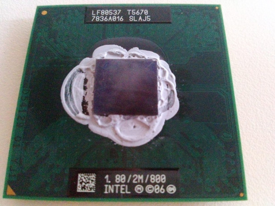 Processador Intel 2 Duo Core T5670 1.8ghz