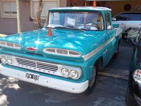 Chevrolet Apache 1960 Americana Tango Y Autos