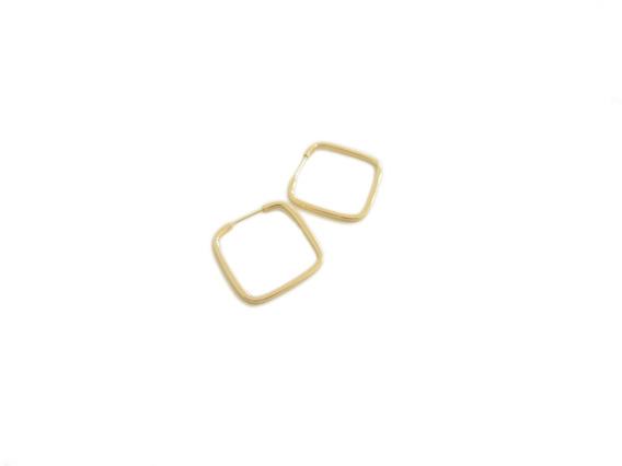Lindo Brinco Argola Em Ouro 18k - Super Leve E Delicado