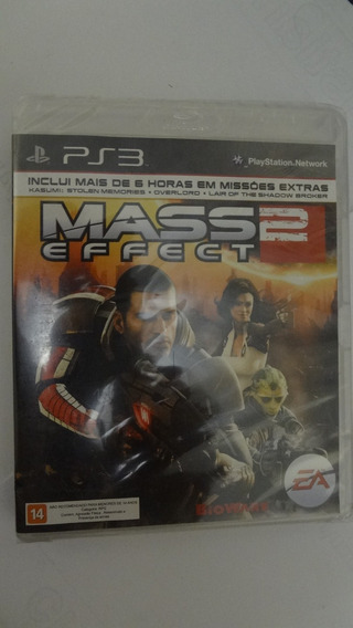 Mass Effect 2 Para Ps3 Novo E Lacrado