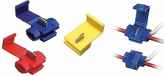 Kit 50pçs Conector Eletrico Derivação - Emenda