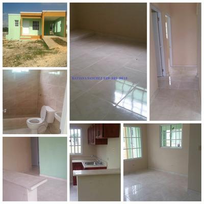 Casa 88m2 De 3 Habitaciones, 1 Baño Y Marquesina