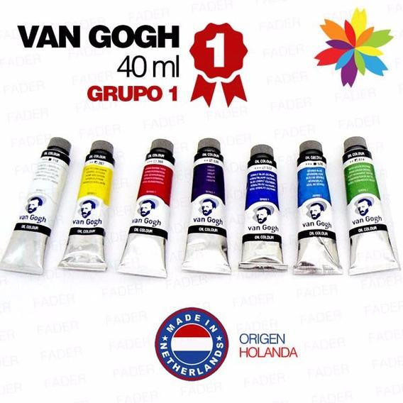 Oleos Van Gogh 40ml.g-1 Todos Los Colores!! Barrio Norte