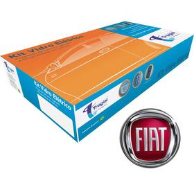 Kit Vidro Elétrico Fiat Novo Punto 13 14 15 Traseiro Ftse036